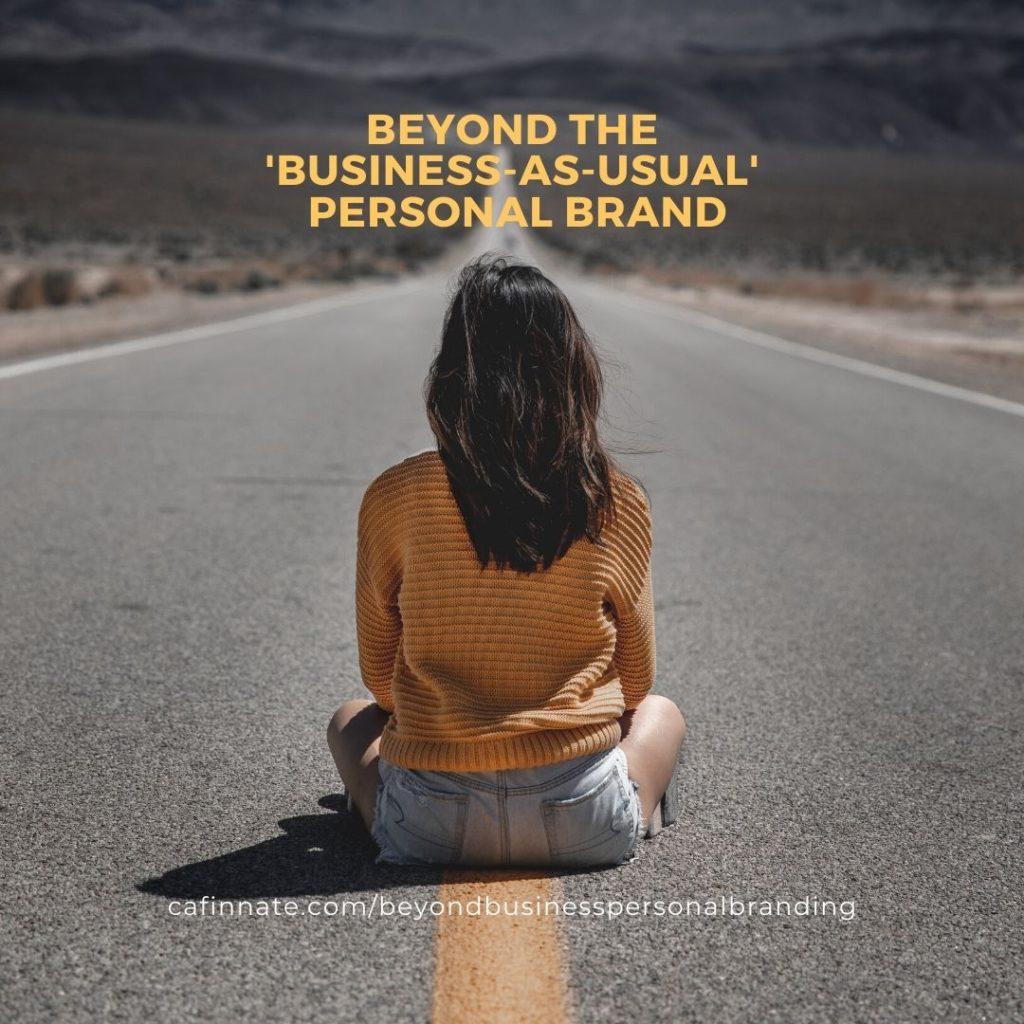 beyond business personal branding